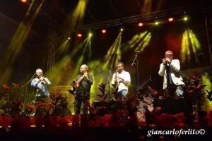 con Francesco Cafiso, Francesco Buzzurro e Giuseppe Milici
