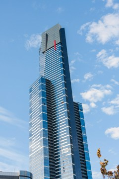 Melbourne - Grattacielo Eureka Tower in South Bank