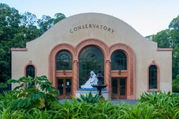Melbourne: il Conservatorio nei giardini Fitzroy