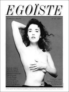 EGOÏSTE N°11 - Isabelle Adjani by Richard Avedon