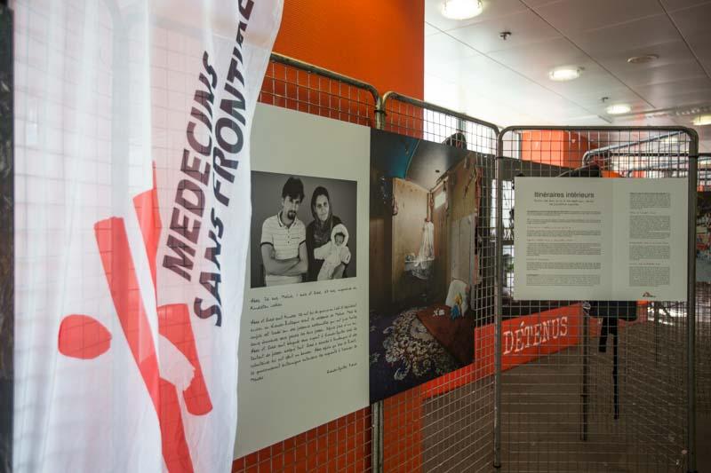 Naufragés de Médecins Sans Frontière