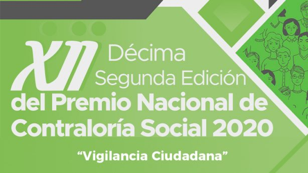 Décima Segunda edición del Premio Nacional de Contraloría Social 2020