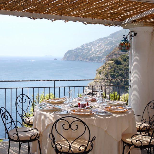 Calajanara Restaurant, Amalfi Coast