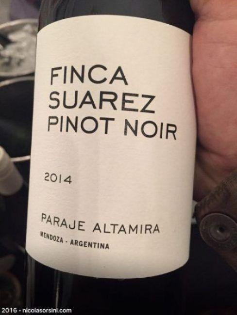 Finca Suarez Pinot Noir