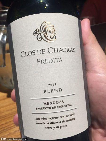 Clos de Chacras Ereditá Blend 2014