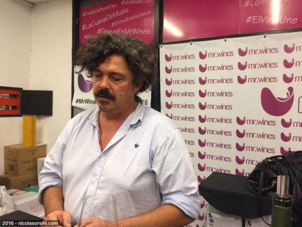 Juan Roby, enólogo de Bodega Lagarde