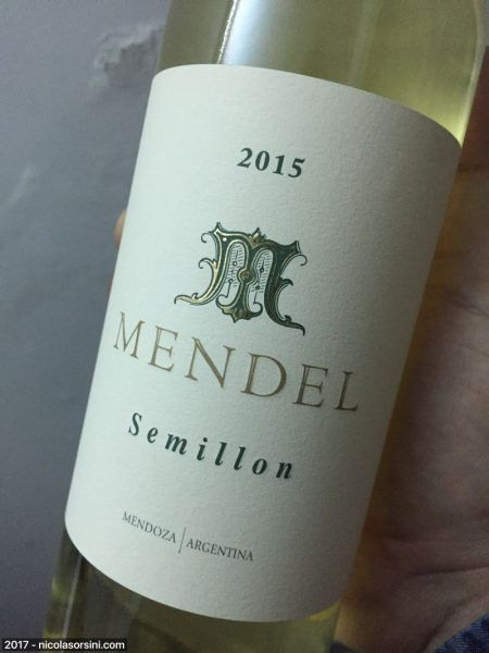 Mendel Semillón 2015