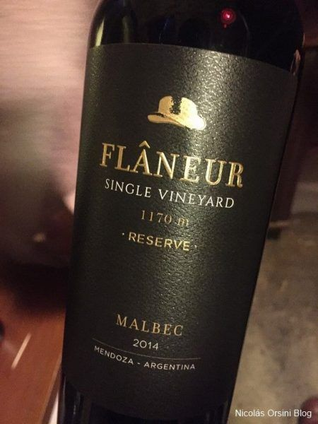 Flaneur Single Vineyard 1150 mts