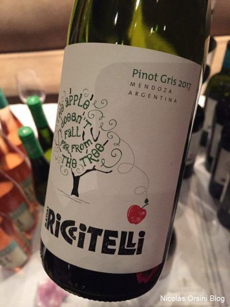 The Apple Doesn´t Fall Far From The Tree Pinot Gris 2017