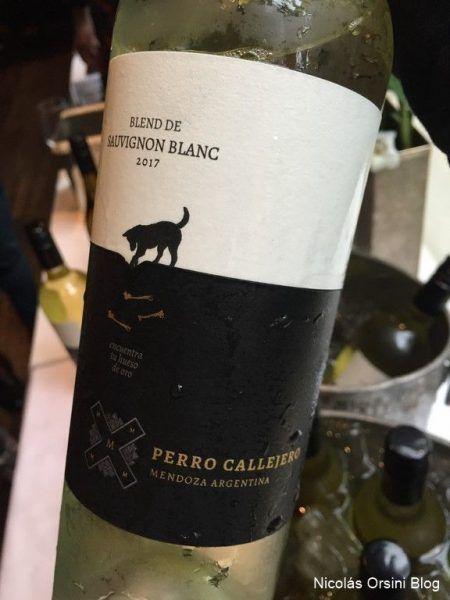 Perro Callejero Blend de Sauvignon Blanc 2017