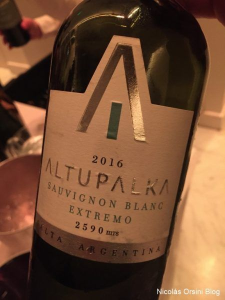 Altupalka Sauvignon Blanc Extremo 2016