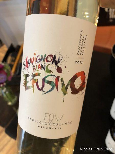 Efusivo Sauvignon Blanc 2017