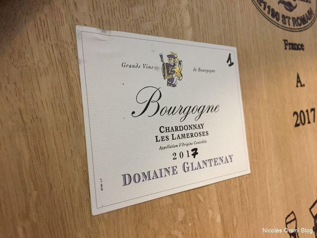 Domaine Glantenay Borgoña