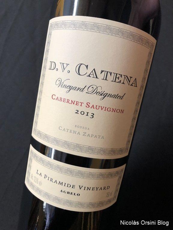 D.V Vineyard Designated Cabernet Sauvignon La Pirámide 2013