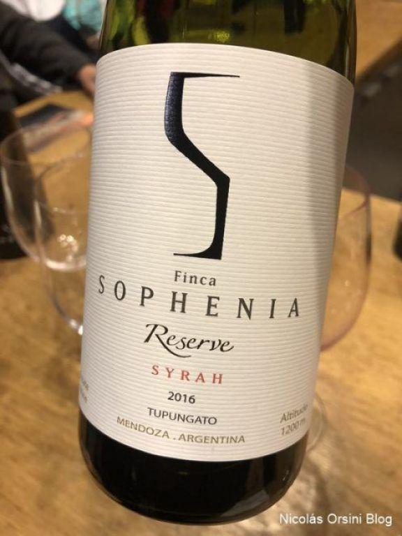 Finca Sophenia Reserve Syrah 2016