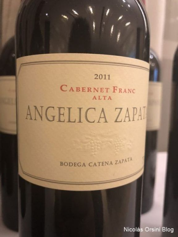 Angélica Zapata Cabernet Franc 2011