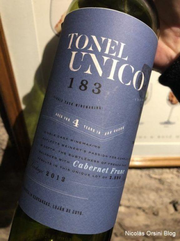 Tonel Único Cabernet Franc 2013