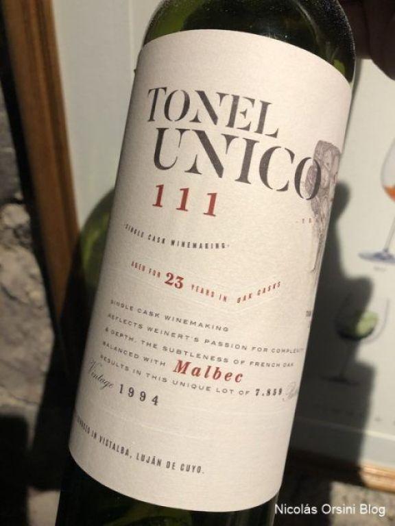 Tonel Único Malbec 111
