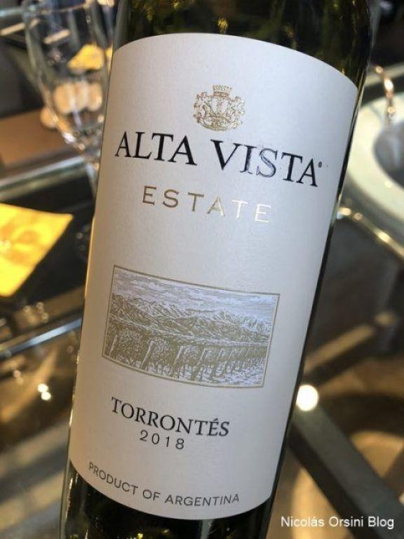 Alta Vista Estate Torrontés 2018