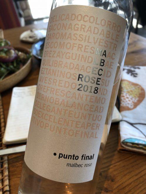 Punto Final Malbec Rosé 2018