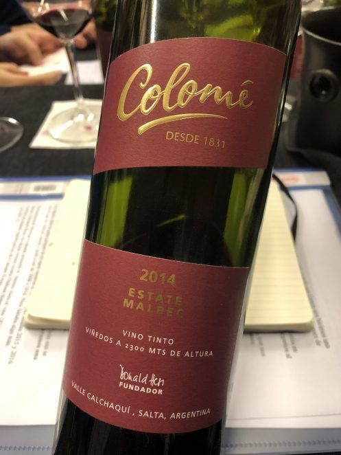 Colomé Estate Malbec 2014