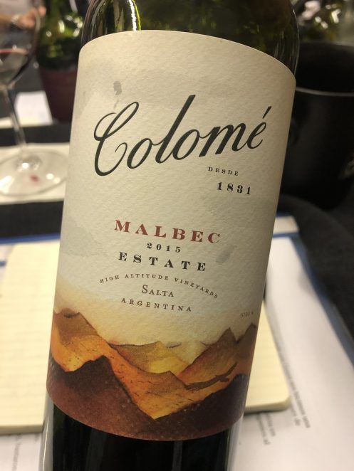 Colomé Estate Malbec 2015
