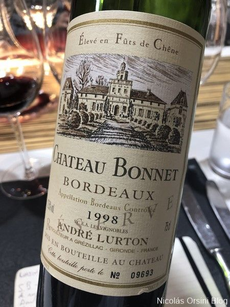 Chateau Bonnet 1998