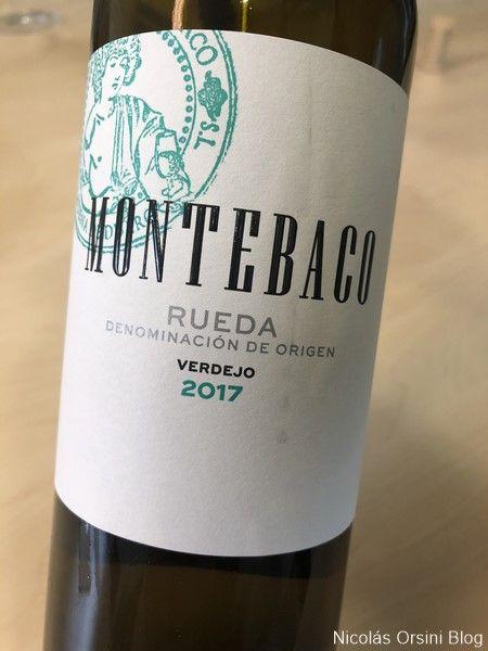Montebaco Rueda Verdejo 2017