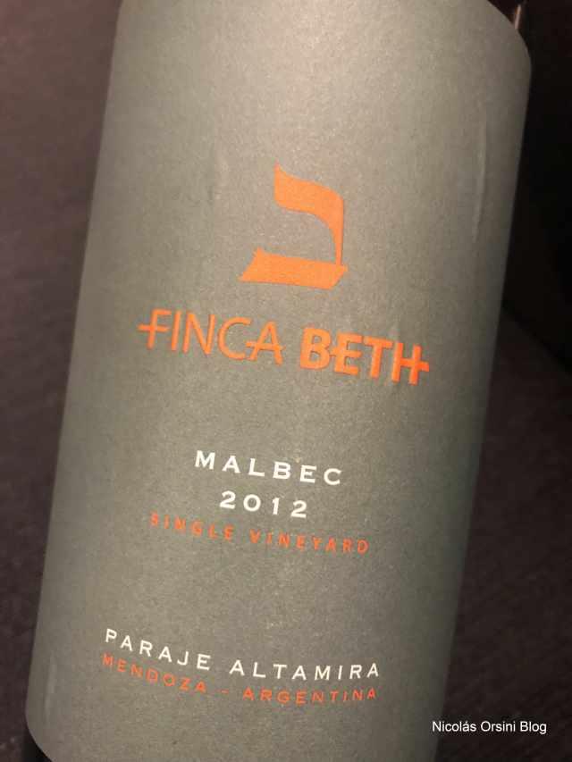 Finca Beth Malbec 2012