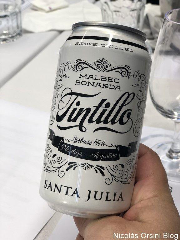 Tintillo Santa Julia en lata