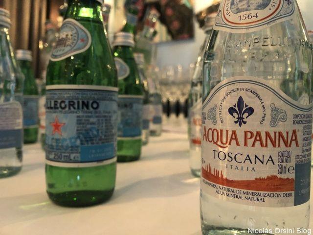Acqua Panna y S. Pellegrino
