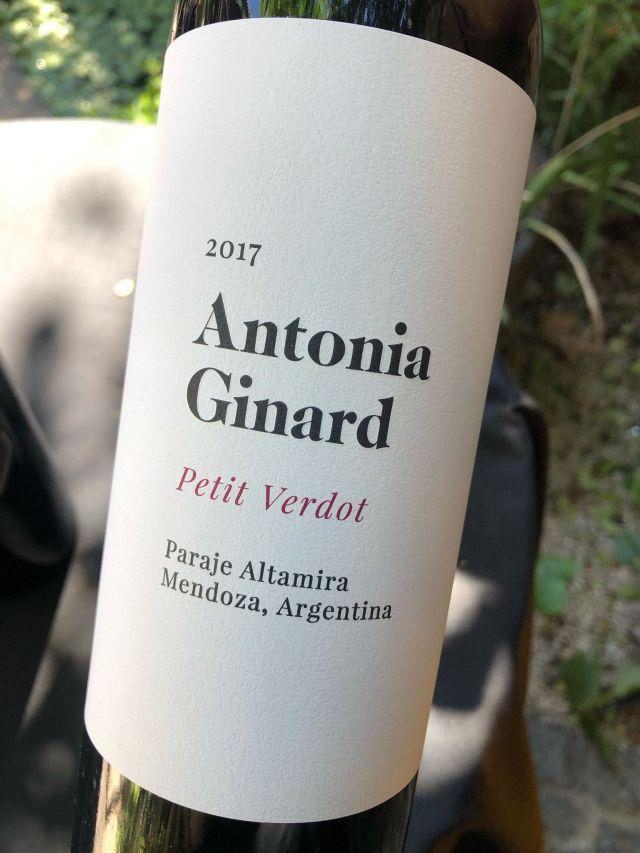 Antonia Ginard Petit Verdot 2017