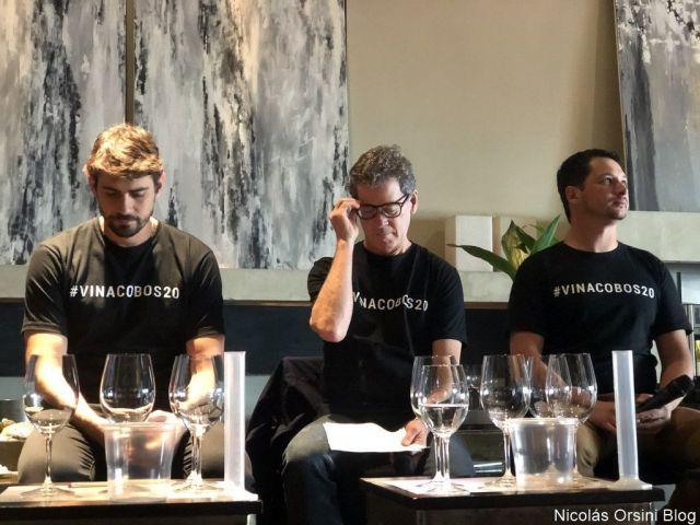 Andrés Vingnoni, Paul Hobbs y Facundo Imagliazo
