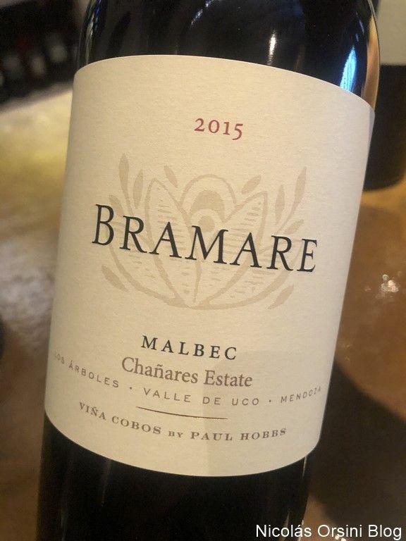 Bramare Malbec Chañares Estate 2015