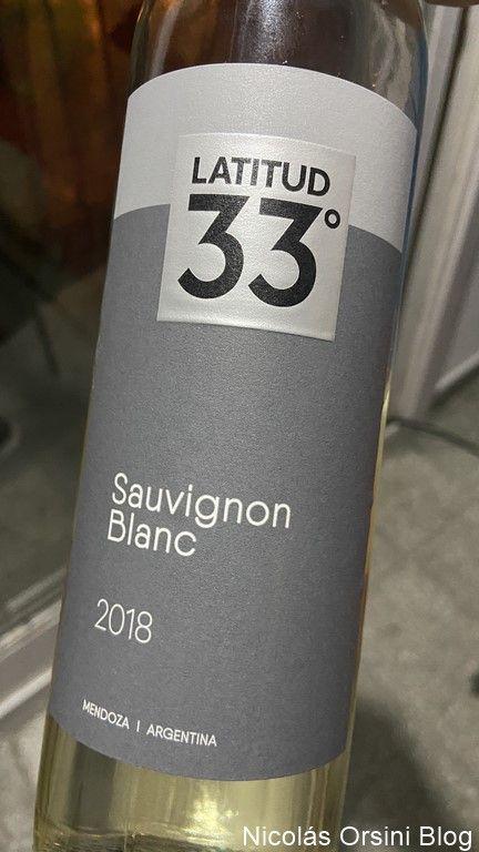 Latitud 33º Sauvignon Blanc 2018