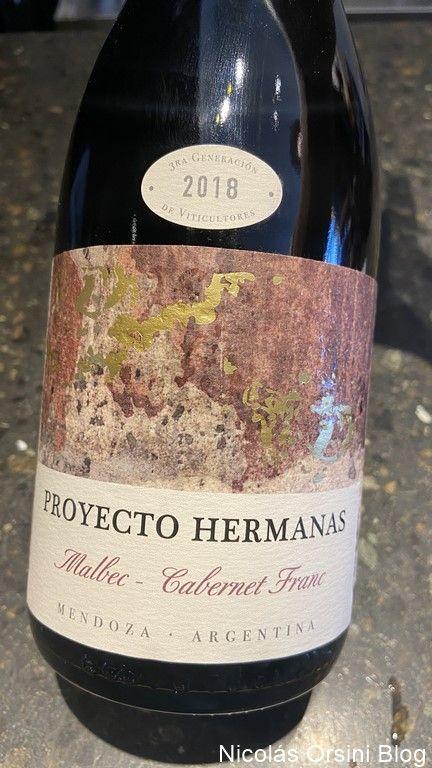 Proyecto Hermanas Malbec - Cabernet Franc 2018