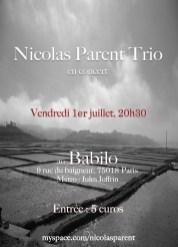 Nicolas Parent trio (2011)