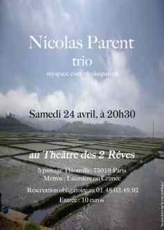 Nicolas Parent trio (2010)