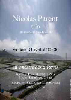 Nicolas Parent trio (2010)