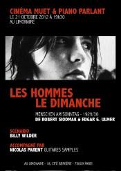 Ciné-Concert, Nicolas Parent (2012)