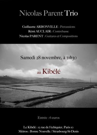 Nicolas Parent trio (2009)