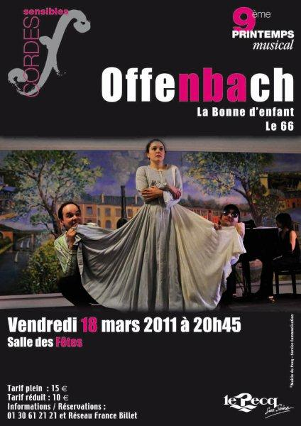Offenbach - Le 66 & La Bonne d'enfants
