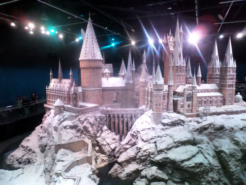 Harry Potter Studio Tour - Hogwarts Castle