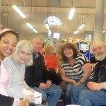 Angela Marsons Author Visit - group photo with Angela