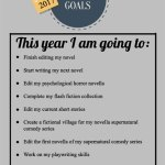 My 2017 Writing Goals
