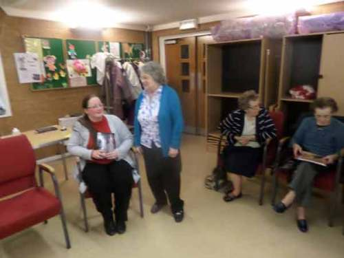 Oldbury Writing Group Book Reading Event – The Wives Methodist Group