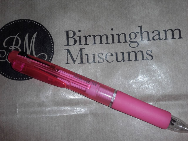Birmingham Museum and Art Gallery - My New Pen