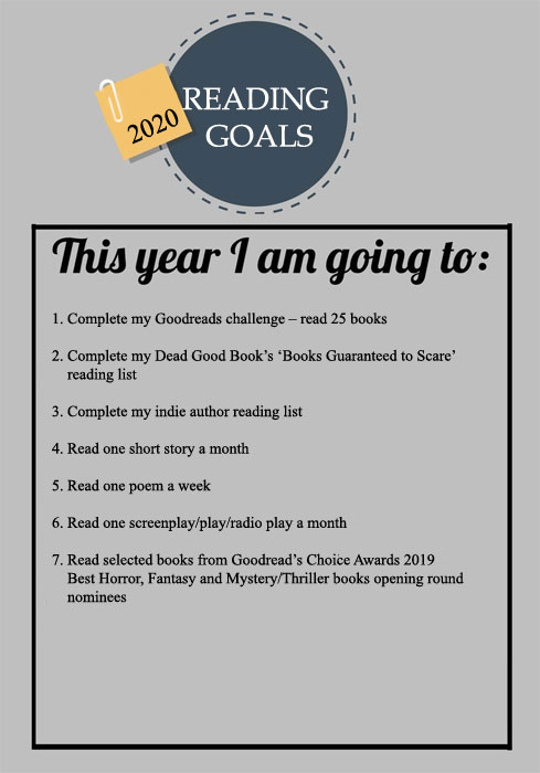My 2020 Reading Goals