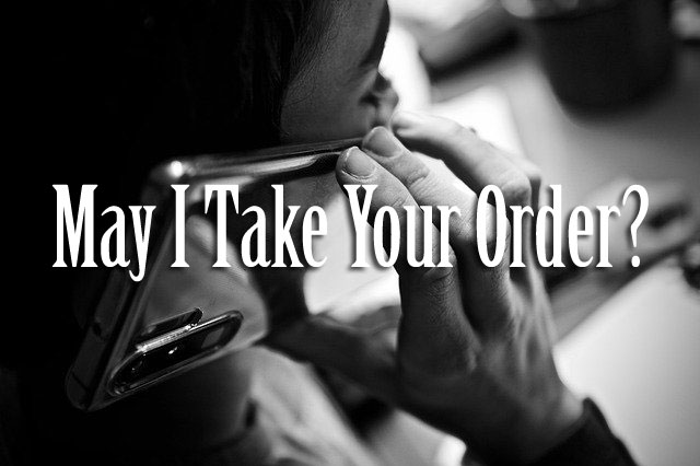 May I Take Your Order by Nicole J. Simms