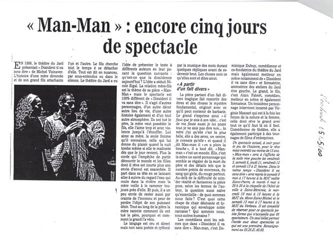 Critiques - Man-man